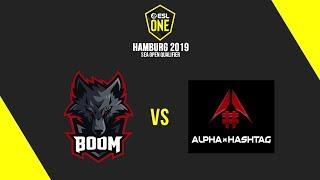 Download BOOM Esports vs Alpha Hashtag [BO3] - ESL One Hamburg 2019 SEA Open Qualifier - Cast by Justincase Video