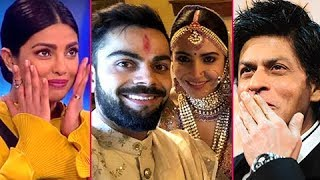 Shah Rukh Khan, Priyanka Chopra CUTE MESSAGE for Anushka Sharma Virat Kohli Wedding