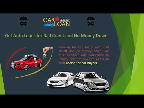 Car Loan For Bad Credit No Money Down Online