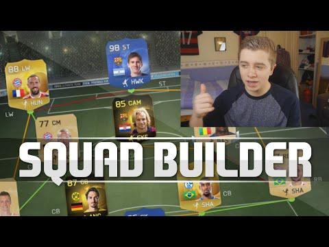 FIFA 15 - TOTY DRAFT SQUAD BUILDER