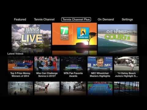 Tennis Channel Everywhere Now Playing on Apple TV