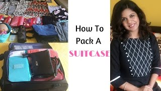 How To Pack Carry-On Bag And Suitcase For Organized Travel