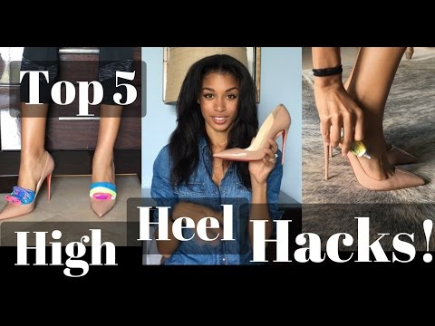 HIGH HEEL HACKS !  |  Make Heels More Comfortable  |  KWSHOPS