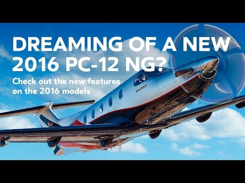 Pilatus PC 12 NG New Features for 2016