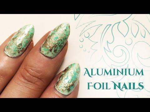 Aluminium Foil Nail Art  | Easy Edition