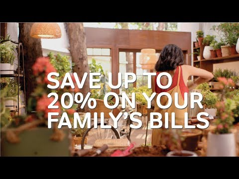 Up to 20% savings on family's mobile bills - Airtel Postpaid Promise