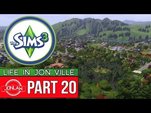 The Sims 3 Gameplay - Part 20 BEING ROMANTIC - Let's Play & Commentary (Jon Ville)