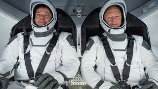 NASA Astronauts Return Home in SpaceX