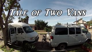 Tale Of Two Vans Vanlife On The Road