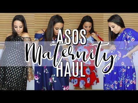 ASOS MATERNITY TRY-ON HAUL 2018