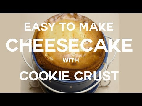 How to Make Easy Cheesecake with a Cookie Crust in Temptations Bakeware
