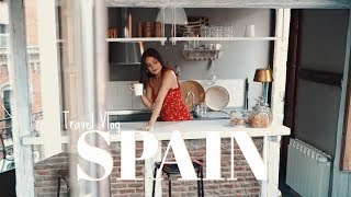 TRAVEL VLOG: Madrid & Barcelona | + My Outfits