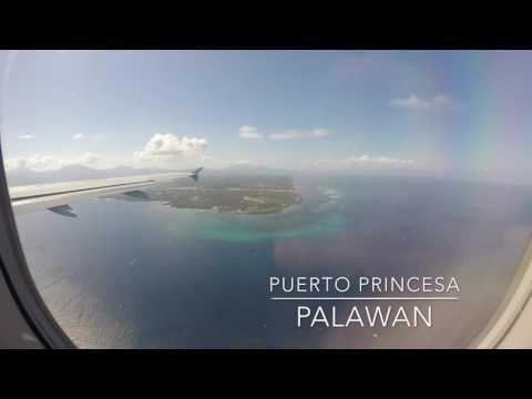 Flight from Manila to Palawan