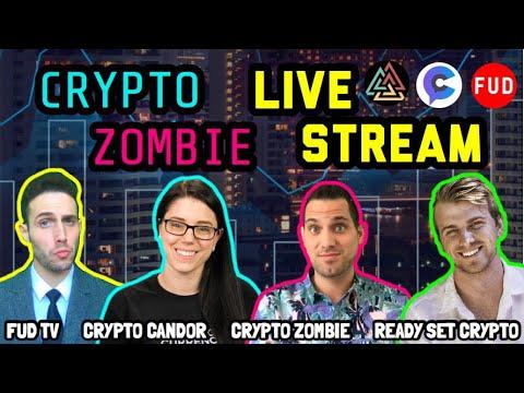 Crypto Zombie | Crypto Candor | FUD TV | Ready Set Crypto | LIVE Stream: Cryptocurrency Chat 🚀