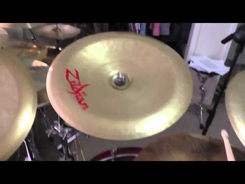 Zildjian China Cymbal Comparison - Four Different Chinas (Z, K, Oriental)