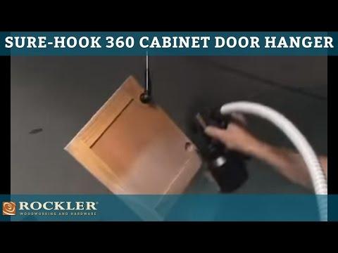 Rockler Sure-Hook™ 360 Cabinet Door Hanger