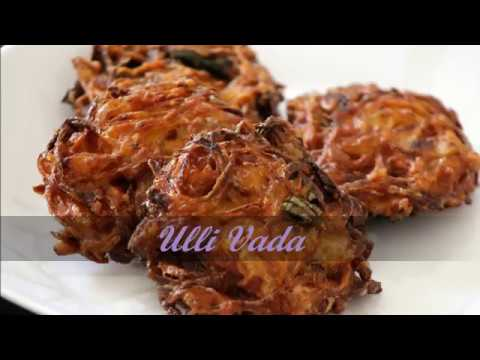 Ulli Vada/Onion Fritters By COOK WITH DEEPA
