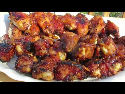 Grilled Chicken Wings - Sweet & Spicy Wing Recipe - Weber Grill
