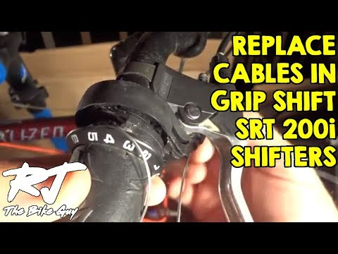How To Replace Shifter Cable On SRAM Grip Shift SRT 200i Shifters