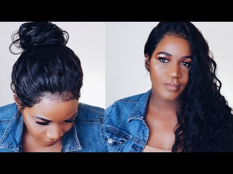WHAT WIG SIS??  NATURAL HAIRLINE DEEP PART LACE FRONT  WIG |  MSBUY