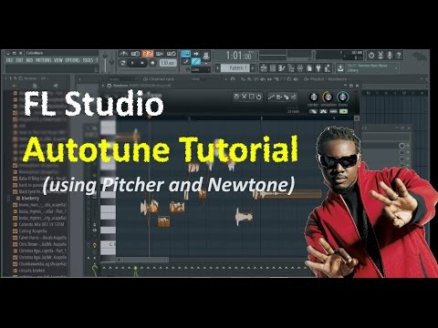 FL Studio Autotune Tutorial Quickstart (using NewTone or Pitcher)