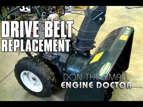 Snowblower Drive Belt Replacement - MTD/CUB CADET/YARDWORKS/YARDMAN
