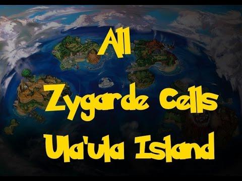 All Zygarde Cells: Ula'ula Island (Pokemon Sun/Moon)