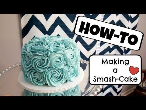 How To Make A Smashcake: 1st Birthday: Tutorial