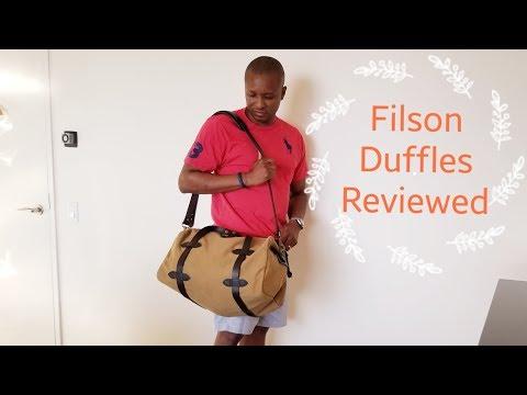Filson Duffle Bags Reviewed - Fall 2018