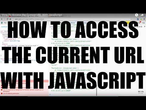 How To Access the Current URL With JavaScript