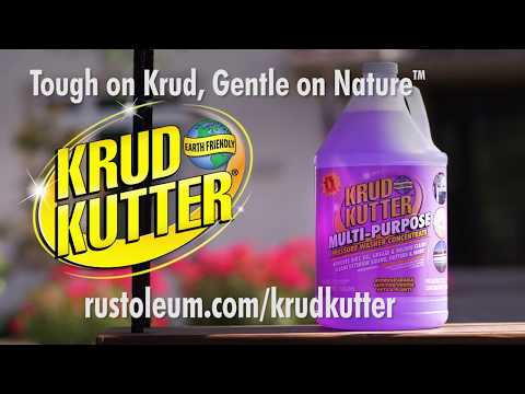 Krud Kutter Multi-Purpose Pressure Washer Concentrate Removes Tough Stains!