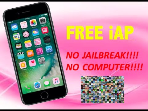 How to get FREE in-App Purchases NO JAILBREAK NO COMPUTER!!!! (iOS 10/9/8/7)