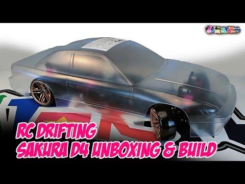 HEMISTORM's SAKURA D4 Unboxing & Build - RC DRIFTING