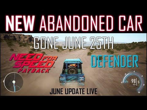 NFS Payback Abandoned Car Location -20-6-18 to 25-6-18 500+ BHP Land Rover Defender 110 + Facecam