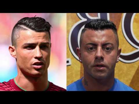 Hairstyle like Cristiano Ronaldo ★ Alfonso Rossi ★ Men's Hair Inspiration
