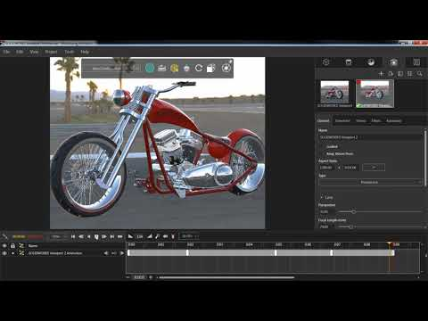 SOLIDWORKS Visualize: Creating an Animated Fly Through Video in Visualize