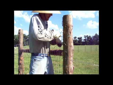 Installing Horse Fence