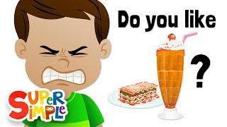 Do You Like Lasagna Milkshakes? | Ice Cream and Lasagna!? | Super Simple Songs