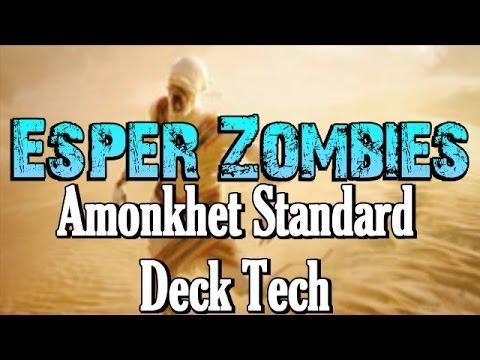 Mtg Deck Tech: Esper Zombies in Amonkhet Standard!