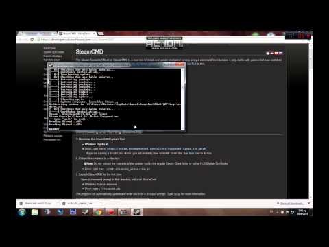 Πως να φτιάξεις τον δικό σου Dedicated Server με το SteamCMD