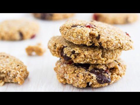 Flourless Chocolate Oatmeal Cookies Recipe | HappyFoods