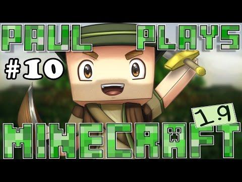 Paul Plays Minecraft 1.9 - E10 - Emerald Hunting & Trading! (Vanilla Minecraft Survival)