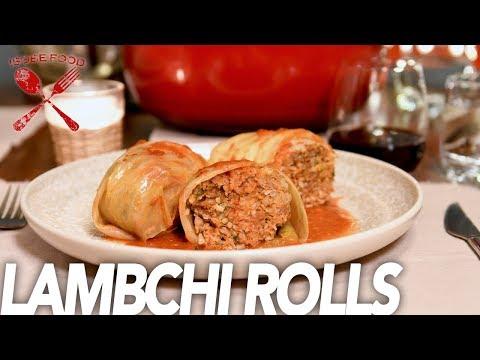 Lamb & Kimchi Stuffed Cabbage Rolls AKA Lambchi Rolls - Isobe Food