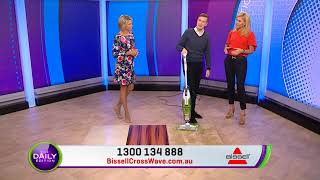 Bissell Crosswave - Demonstration - Daily Edition, Channel 7