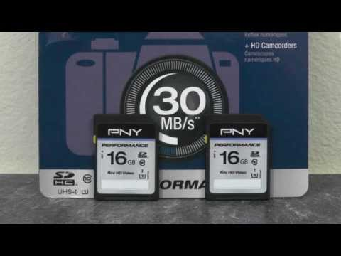 PNY UHS-I/Class 10 SD Card twin pack