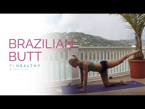 Brazilian Butt Workout | Rebecca Louise