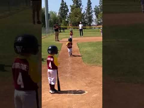 Little Kid Runs in Slow Motion During Baseball Game - 988585