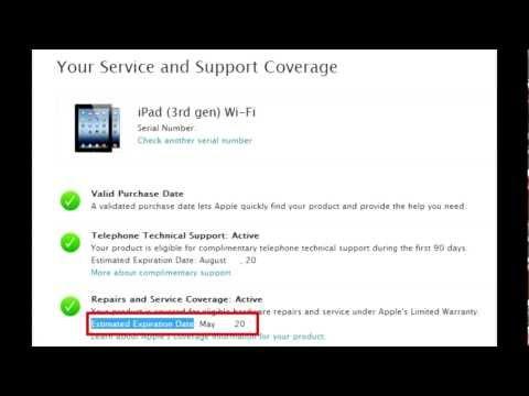 Learn when Apple warranty expires
