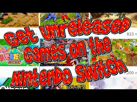 Get UNRELEASED (US) Games on NINTENDO SWITCH! | Tutorial | Japanese eShop