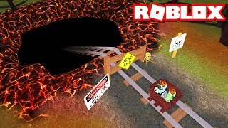 Roblox Adventures - SCARIEST CART RIDE TO THE UNDERWORLD IN ROBLOX! (Cart Ride to the Underworld)